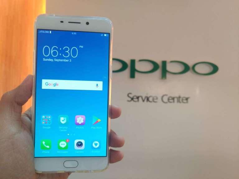 OPPO F1 Plus taken inside OPPO Service Center