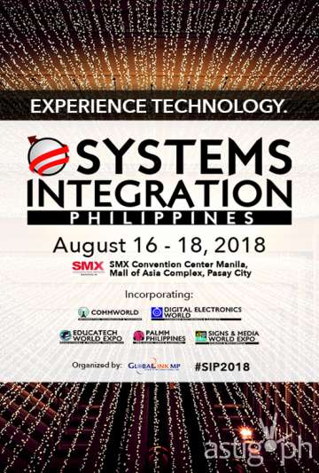 System Integrations Philippines 2018 poster