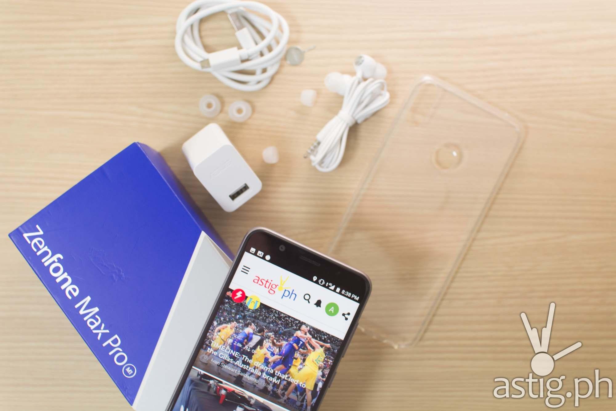 Zenfone Max Pro M1 unboxing