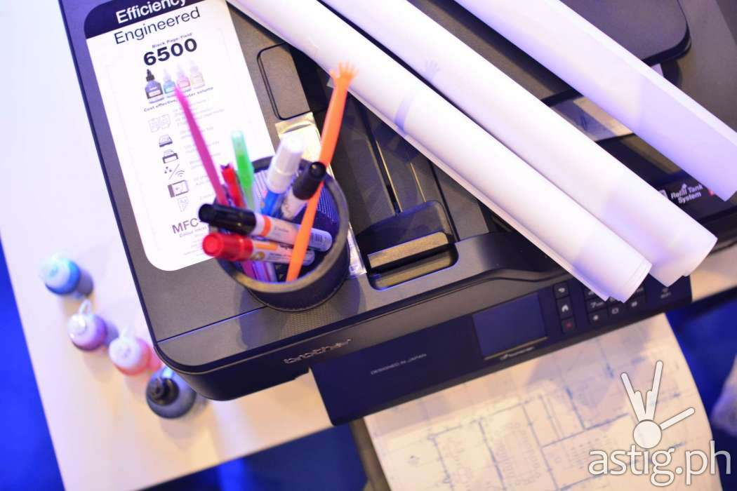 Brother MFC-T4500DW A3 Series Inkjet Printer with refillable ink tank system