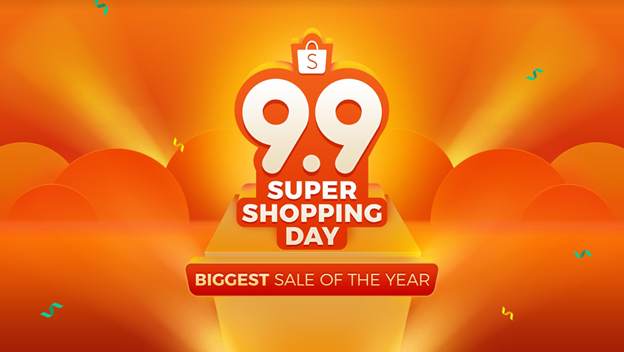 Shopee 9.9 Super Shopping Day online sale