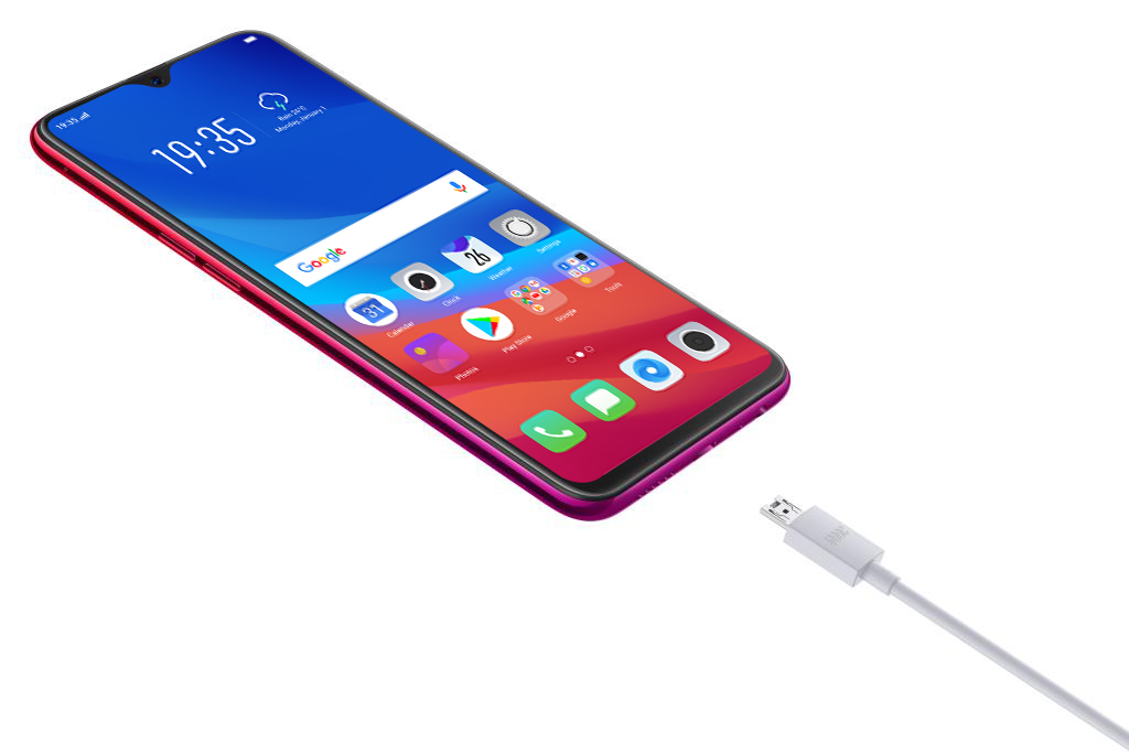 OPPO F9 VOOC Flash Charge