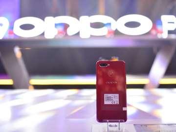 OPPO F9 Sunrise Red