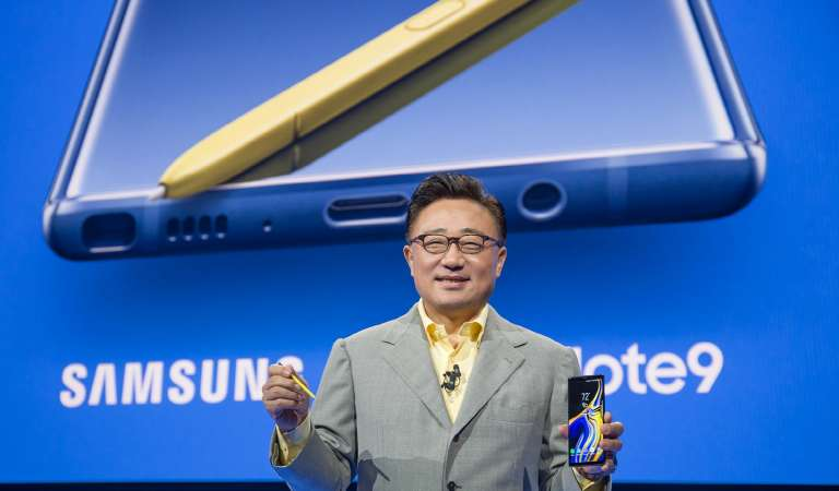 Samsung Galaxy Note 9 debuts at 55,990 Php