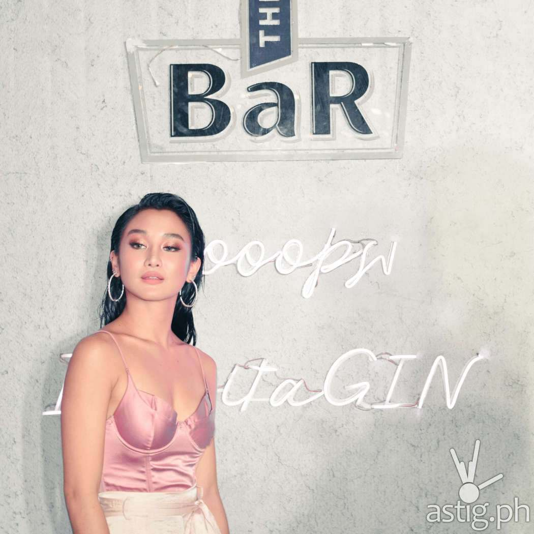 Chienna Filomeno - The BaR Premium Gin Philippine launch