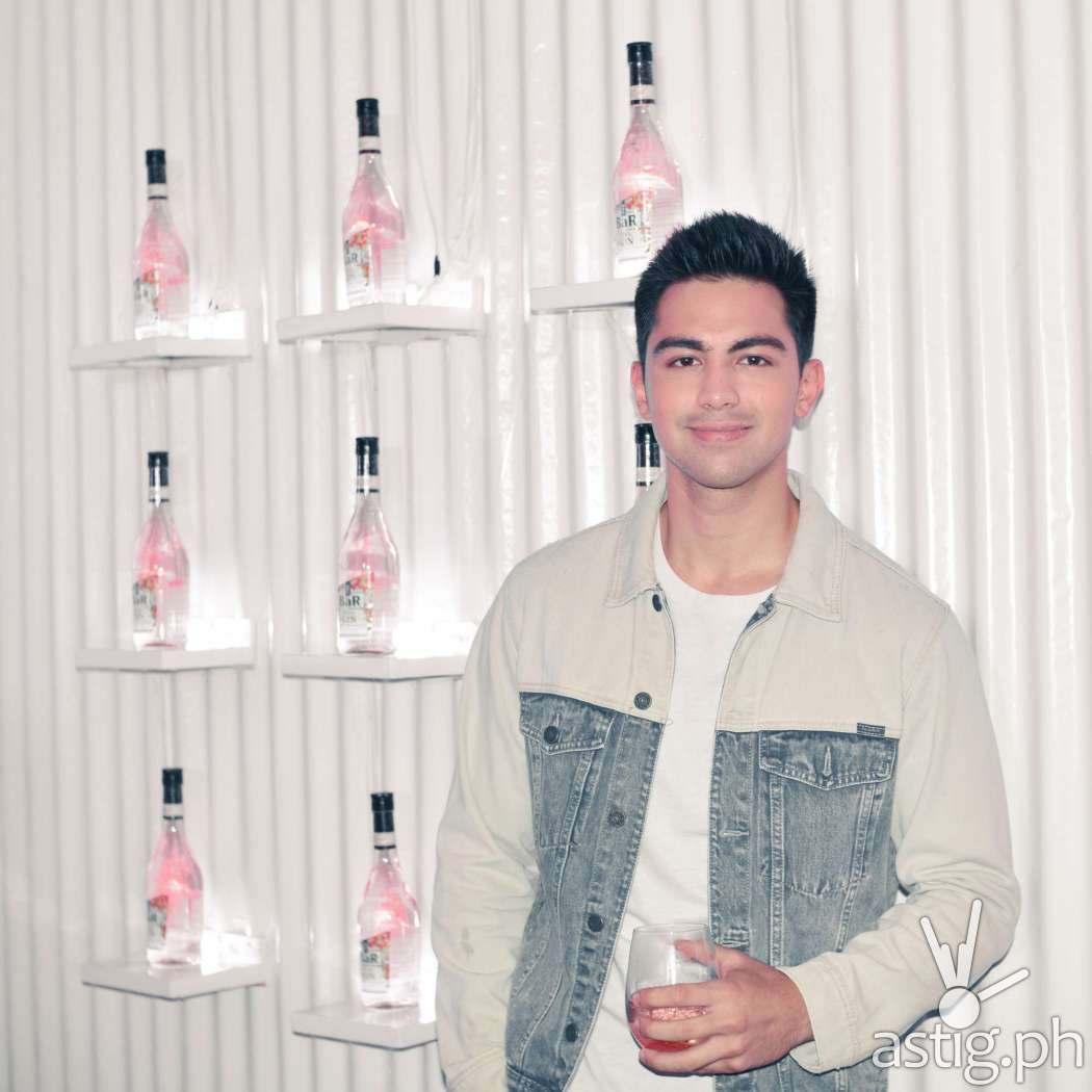 Derrick Monasterio - The BaR Premium Gin Philippine launch
