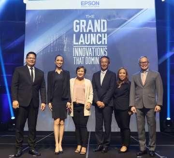 Epson Printer Philippines launch