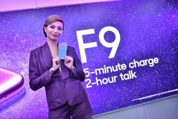 Glaiza with Starry Purple OPPO F9