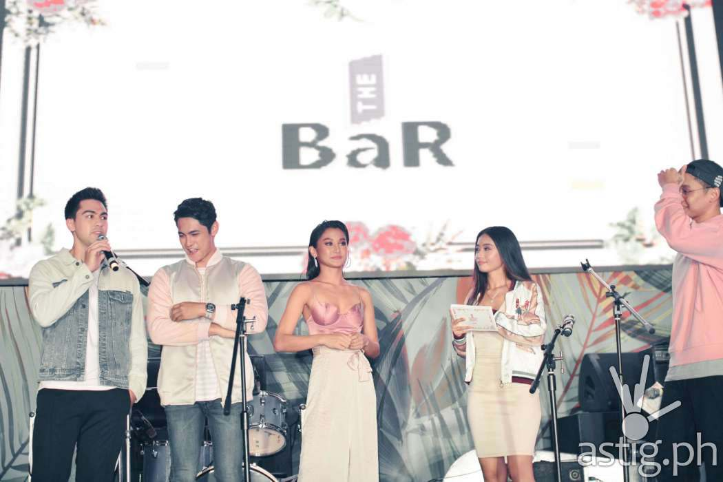 Kiko Estrada, Derrick Monasterio, Chienna Filomeno - The BaR Premium Gin Philippine launch
