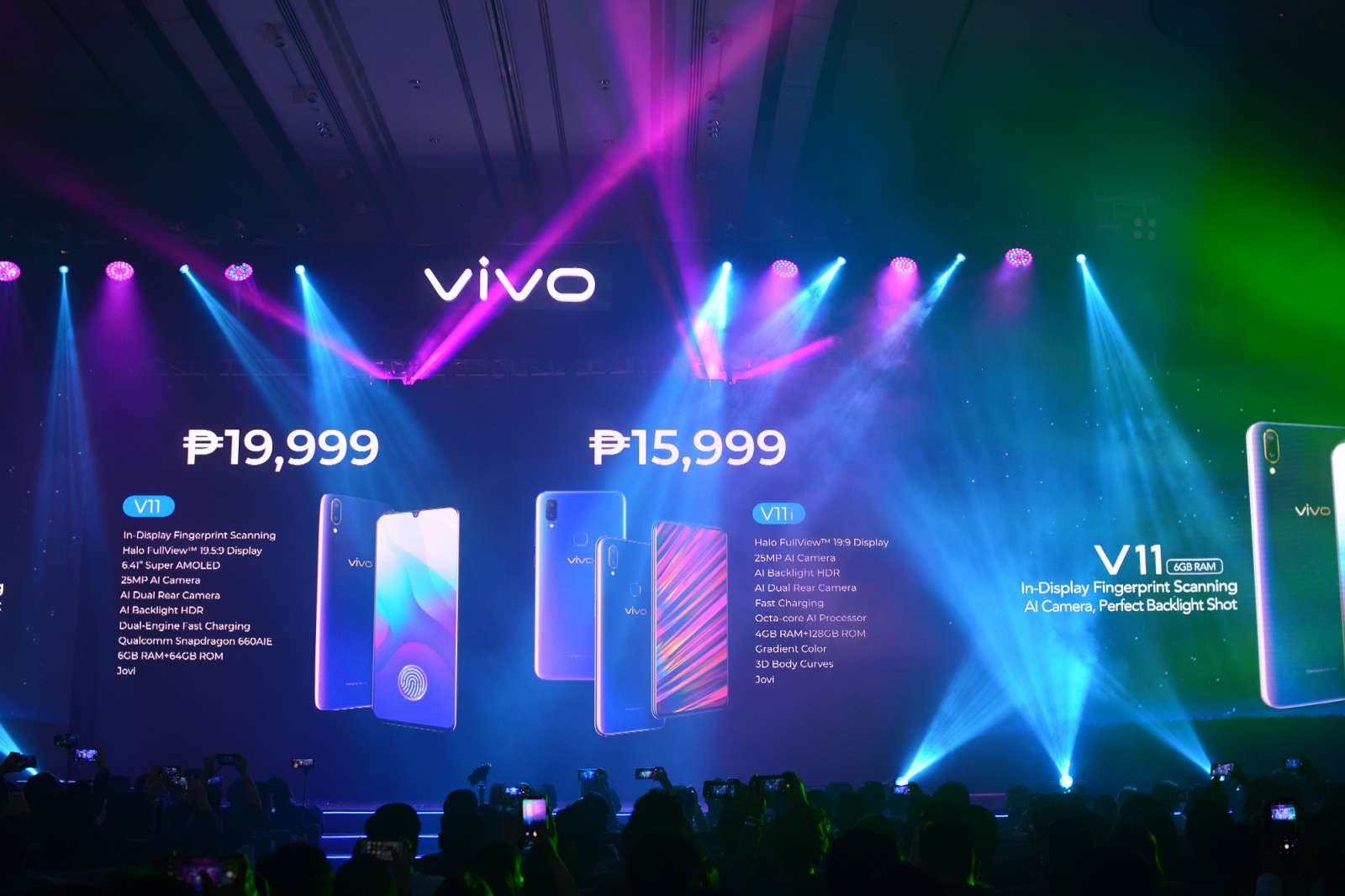 Vivo V11 Vivo V11i launch Philippines