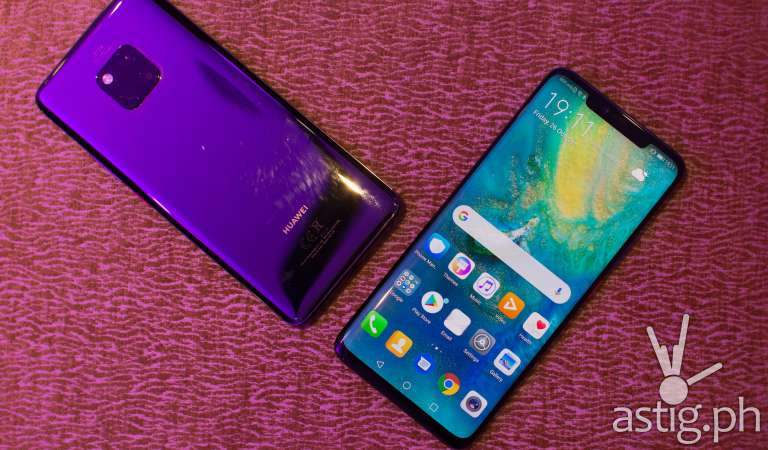 Huawei Mate 20 Pro ushers triple-cam, 7nm era phones at P49,990