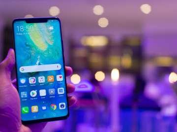 Huawei Mate 20 Pro - handheld
