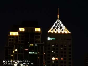 Huawei Mate 20 Pro sample photo - cityscape night mode 5x zoom