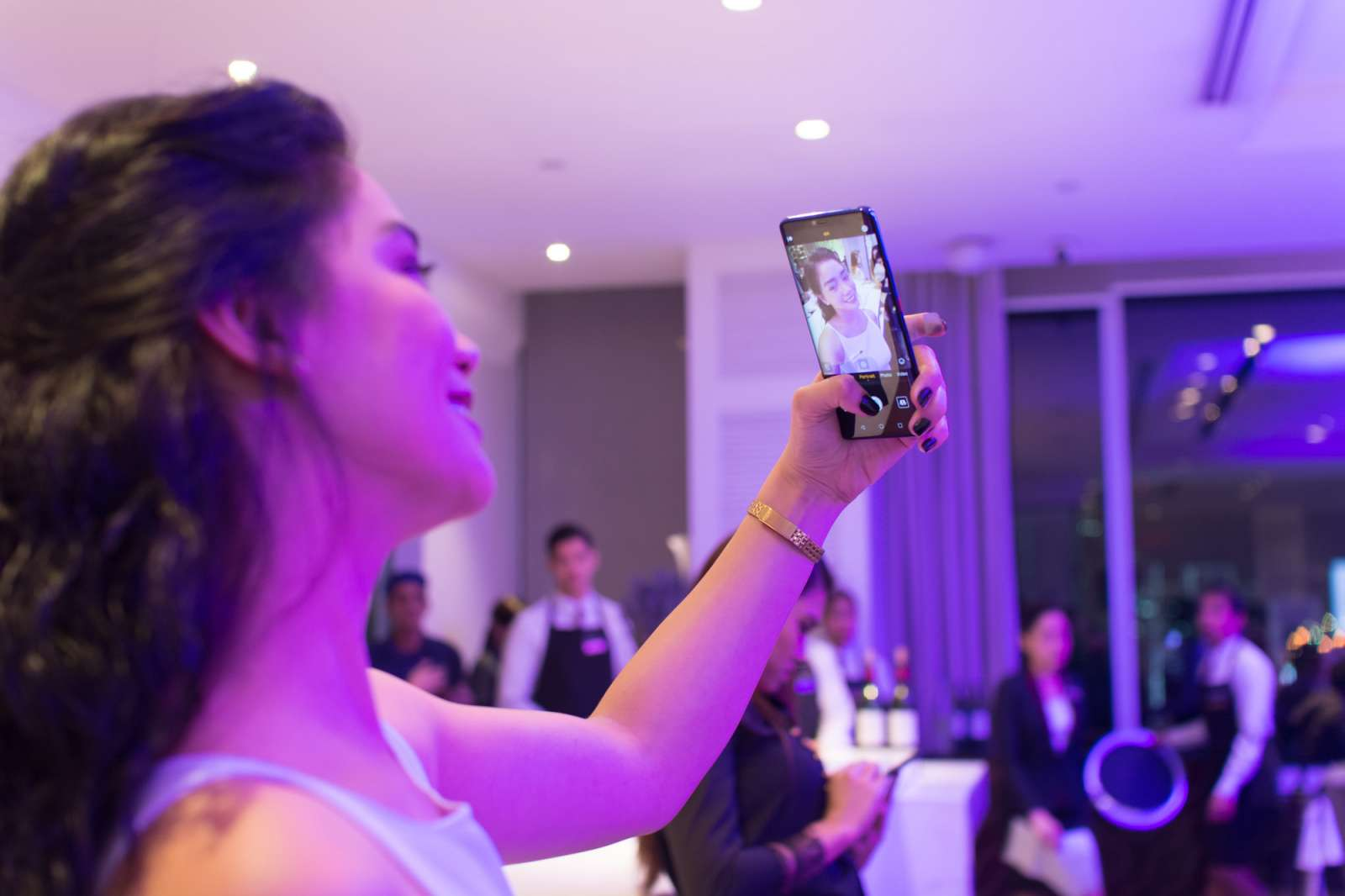 Huawei Mate 20 Pro - selfie
