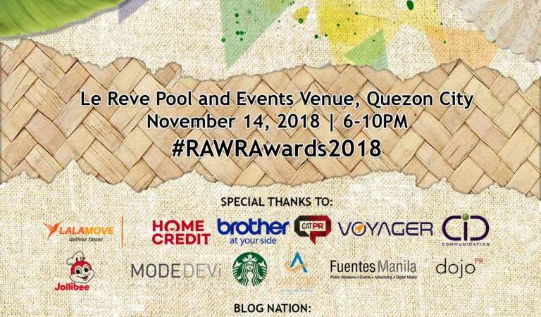 RAWR Awards 2018 complete list of nominees