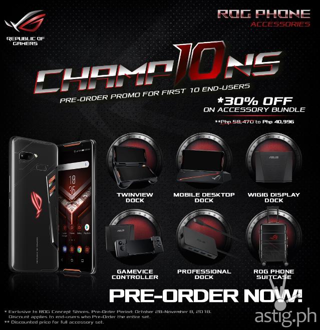 ROG Phone Champ10ns bundle Philippines
