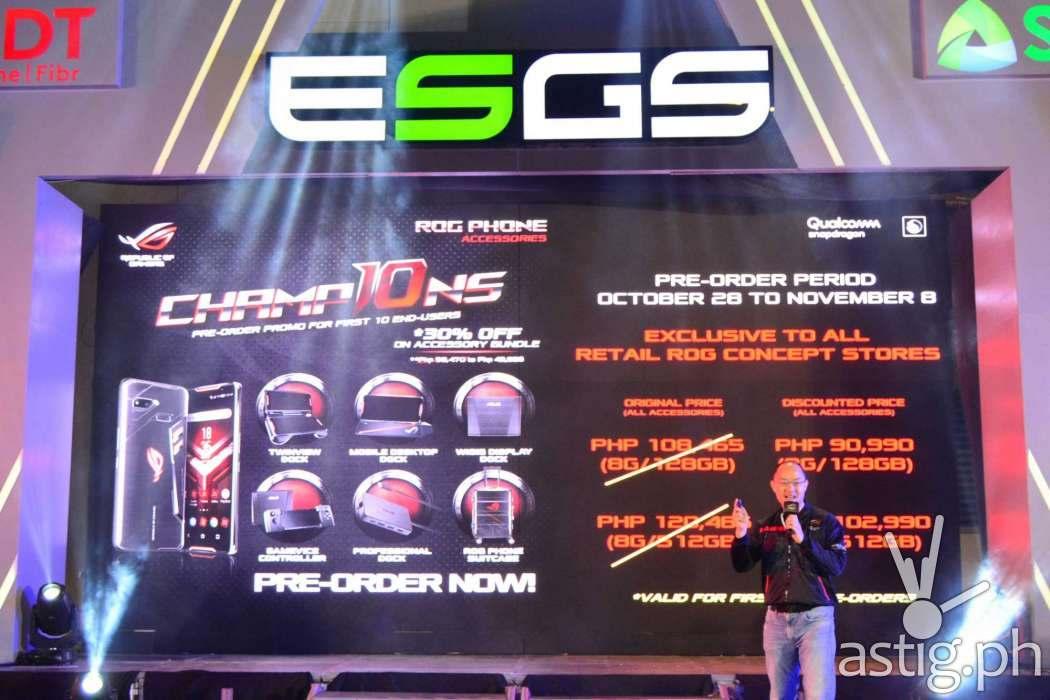 ROG Phone price - Philippines ESGS 2018