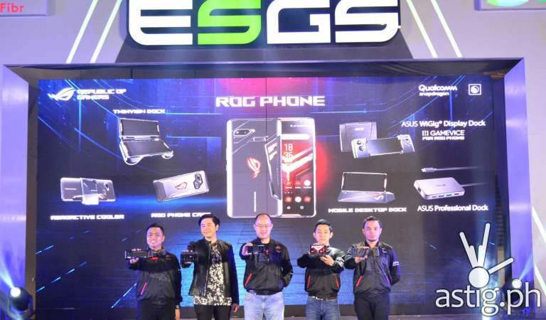 ASUS Republic of Gamers closes ESGS 2018 with ROG Phone launch