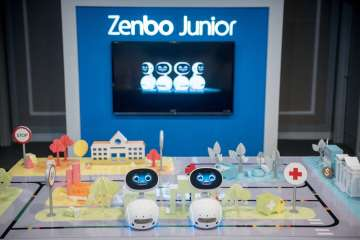 Zenbo Junior is a new AI-enabled robotics platform that allows developers, system integrators and business partners to create flexible and easily manageable robotics solutions