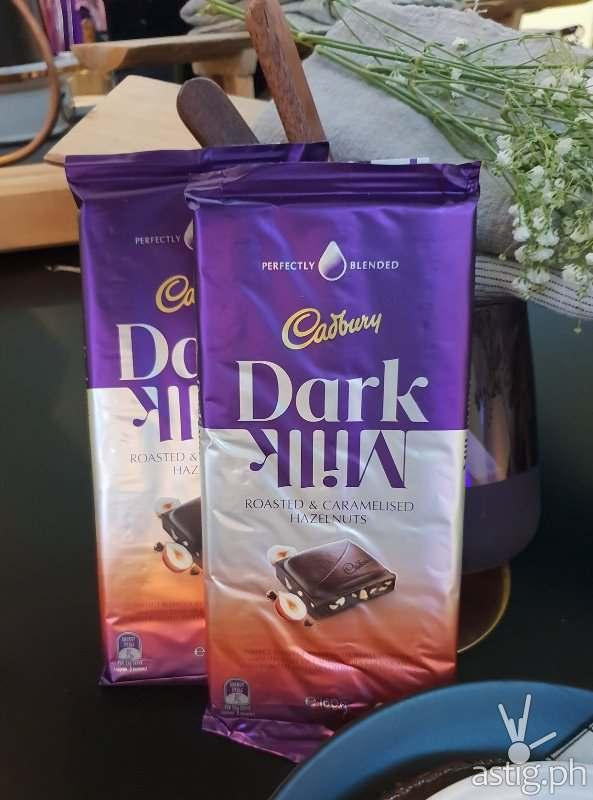 Cadbury Dark Milk Roasted & Caramelised Hazelnuts