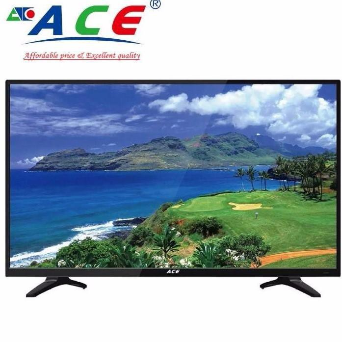 Ace 32 Slim LED TV Black