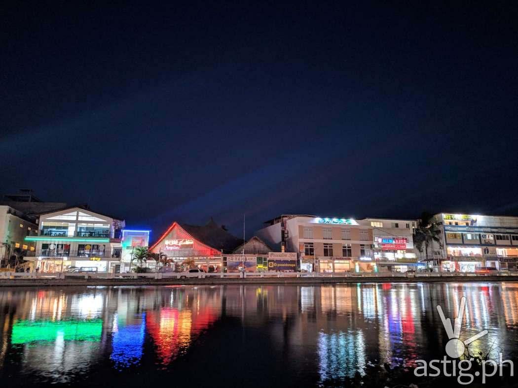 Night shot - Boracay Philippines re-opening smartphone photo taken on an ASUS ZenFone 5 by Den Uy of TechKuya