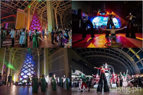 Christmas Tree Lighting at Okada Manila