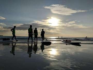 Silhouette - Boracay Philippines re-opening smartphone photo taken on an ASUS ZenFone 5 by Den Uy of TechKuya