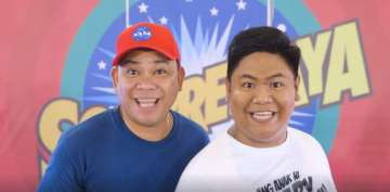 Kapamilya komikeros Jobert Austria at Nonong turn into hosts for Sorpresaya, CineMo's first game show on ABS-CBN TVPlus