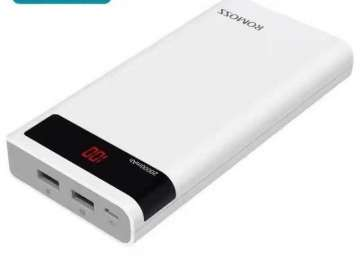 Original Romoss Powerbank Sense 6P 20000mAh LED Screen
