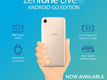 ASUS Launches its first Android GO ZenFone!