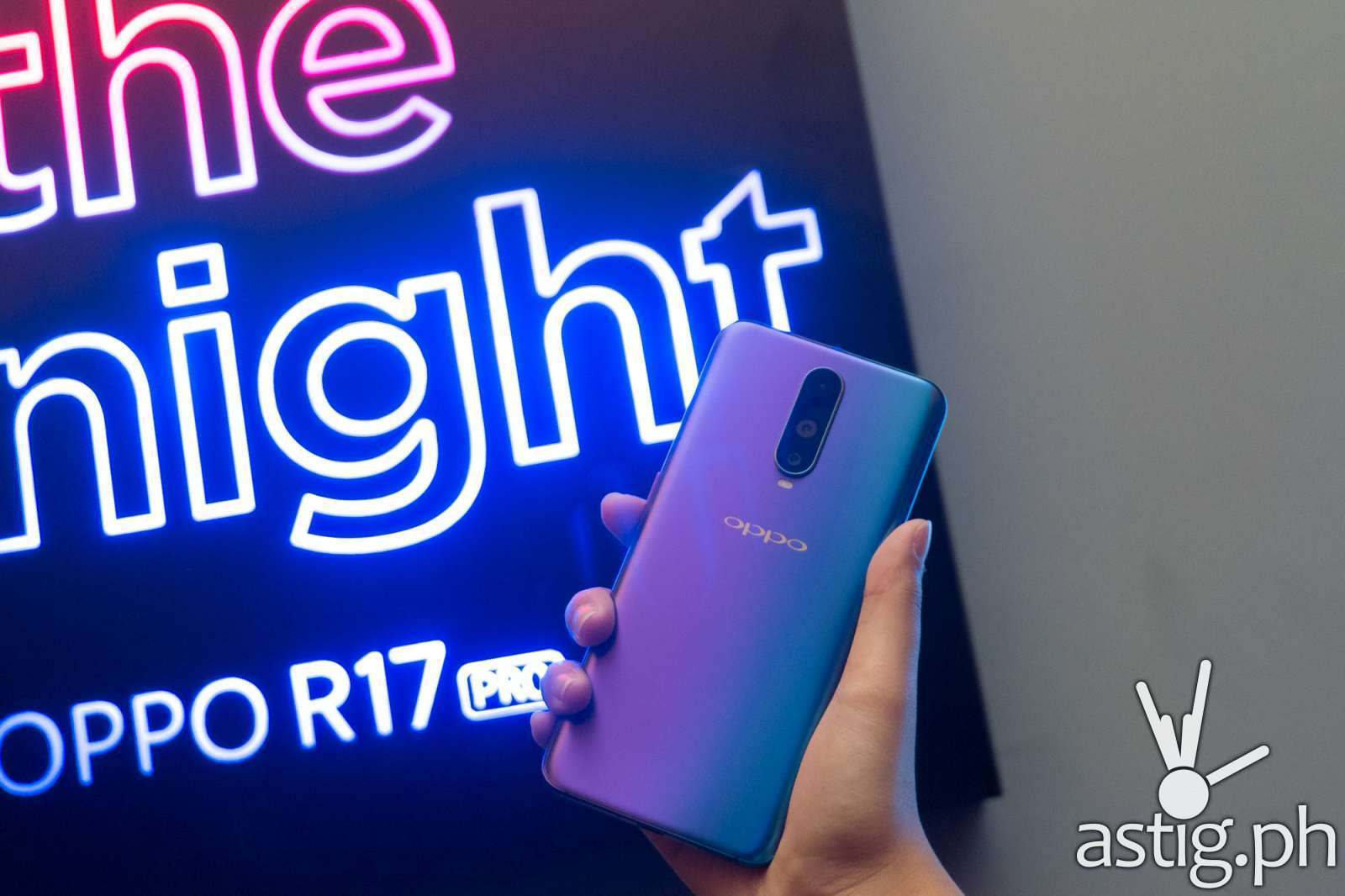 OPPO R17 Pro Seize The Night