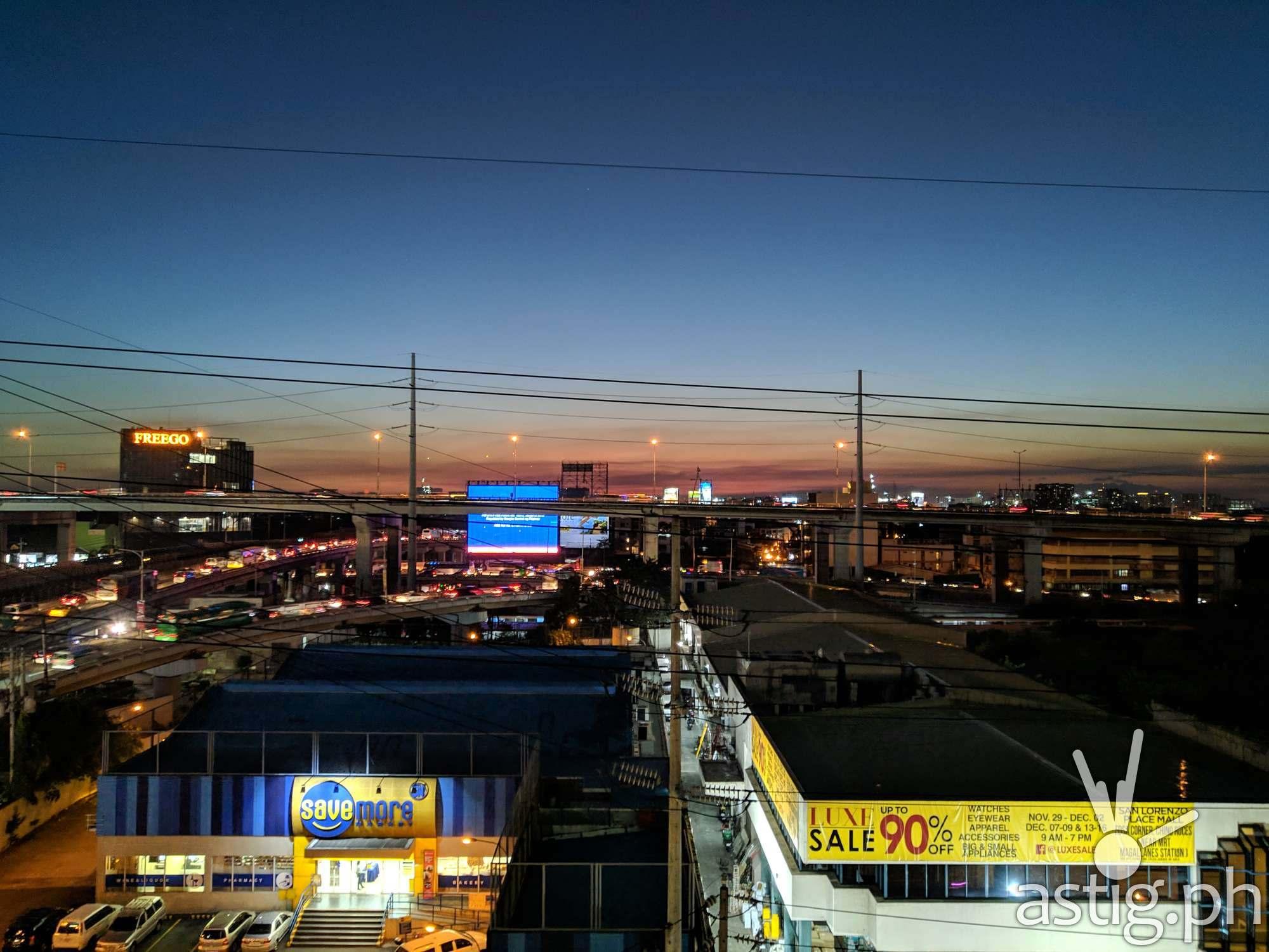 Zenfone Max Pro M2 photo sample - sunset
