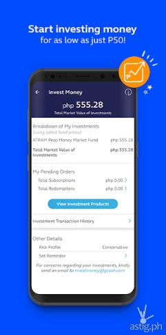 GCash Invest Money app
