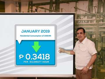 Meralco January 2019 Rate