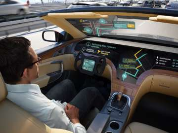 LG self-driving AI cars