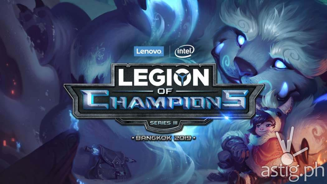 Lenovo - Legion of Champions III