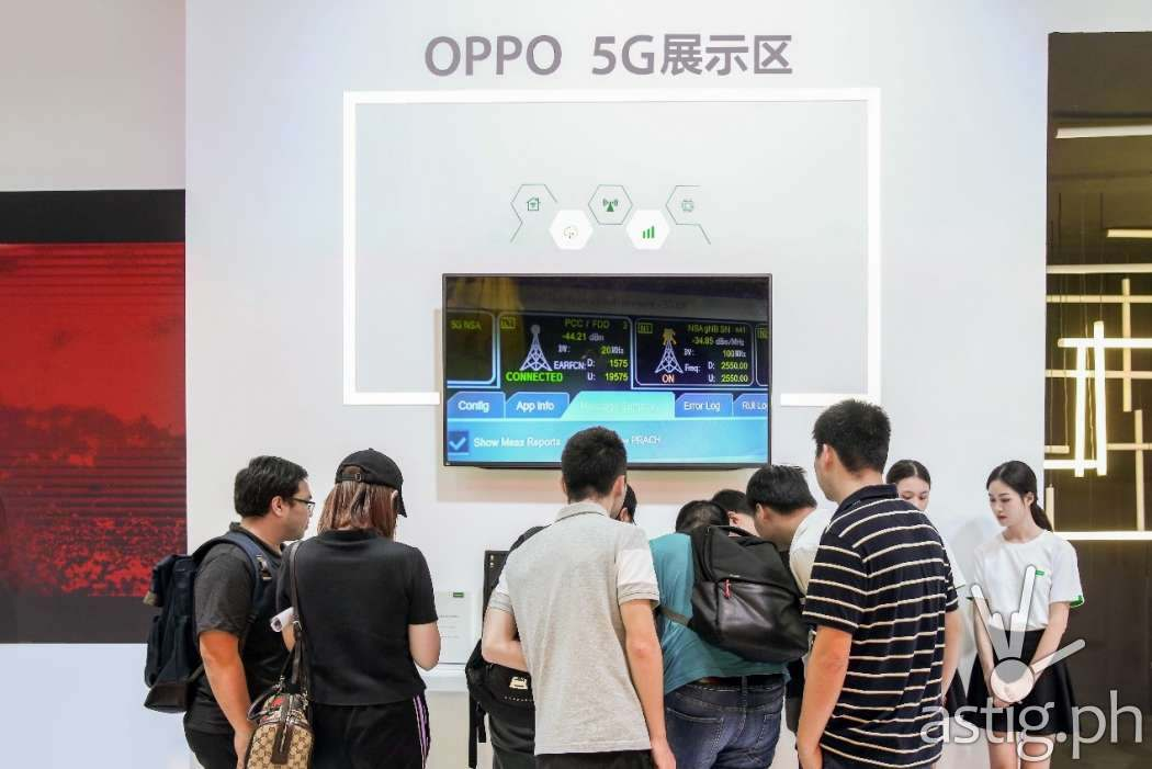 OPPO unveiled the Find X 5G Prototype at the 2018 China Mobile Global Partners Conference held last December in Guangzhou, China