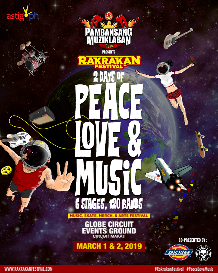 Rakrakan 2019 poster