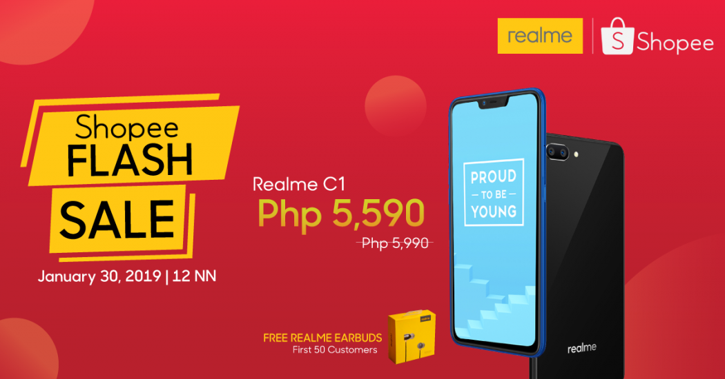 Realme x Shopee partnership official KV