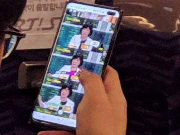 Samsung Galaxy S10 Plus leaked photo