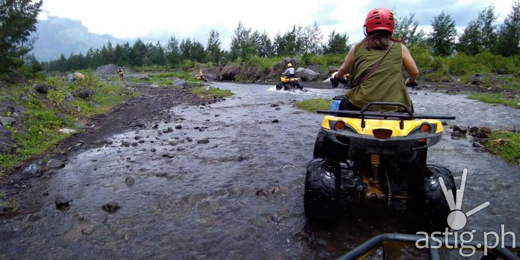 An ATV adventure leading to the breathtaking view of Mt. Mayon