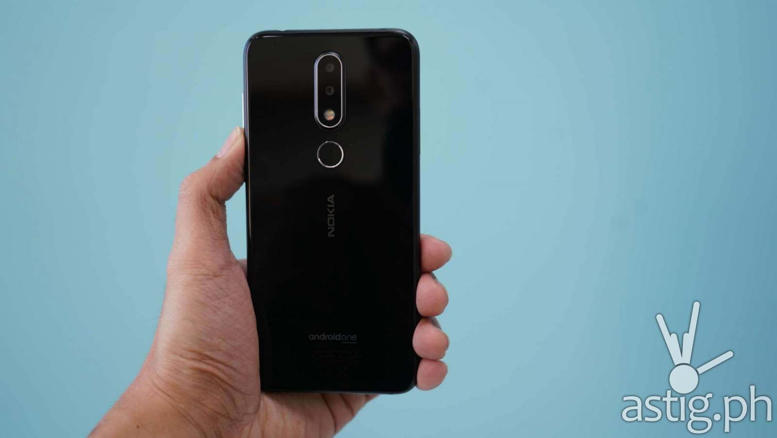 Back handheld - Nokia 6.1 Plus (Philippines)