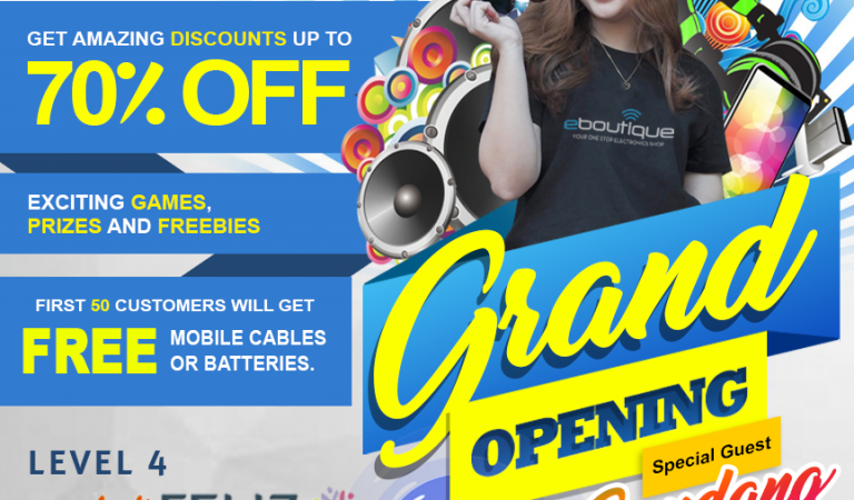 The Electronics Boutique (EBoutique) opens at Ayala Malls Feliz