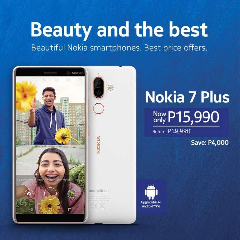 Nokia 7 Plus price drop (Philippines)