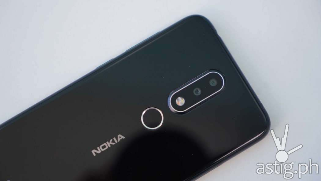 Rear camera - Nokia 6.1 Plus (Philippines)