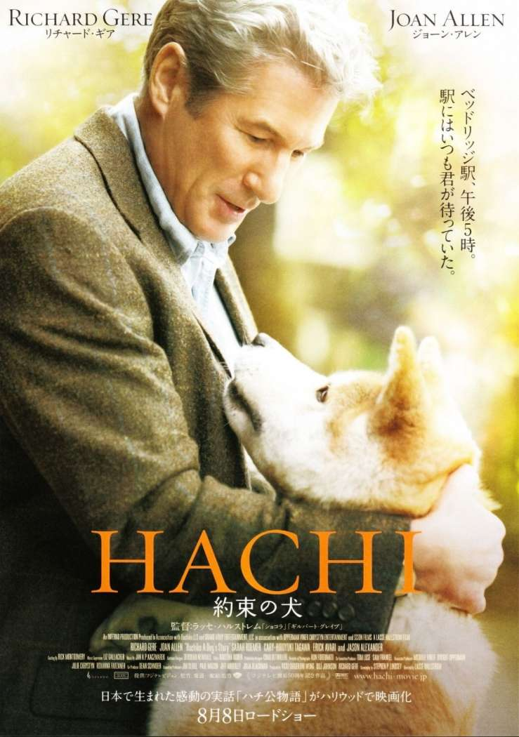 Hachi: A Dog's Tale movie poster