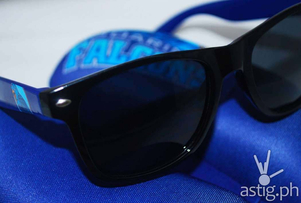 Ateneo de Manila University - UAAP themed sunglasses by Fly Shades