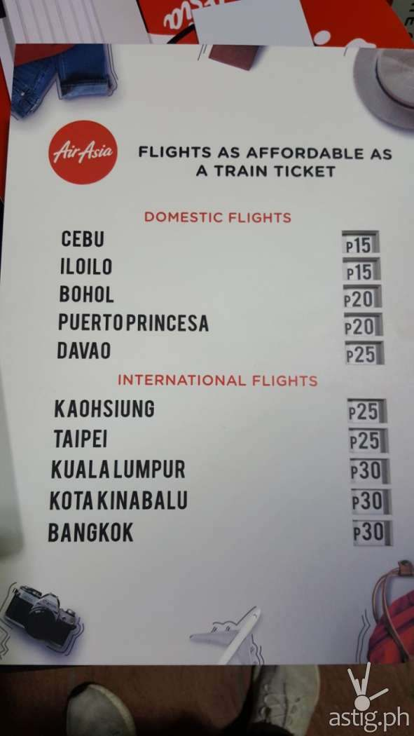 Commuters were able to purchase ticket fares to local and international destinations for as low as one single journey ticket