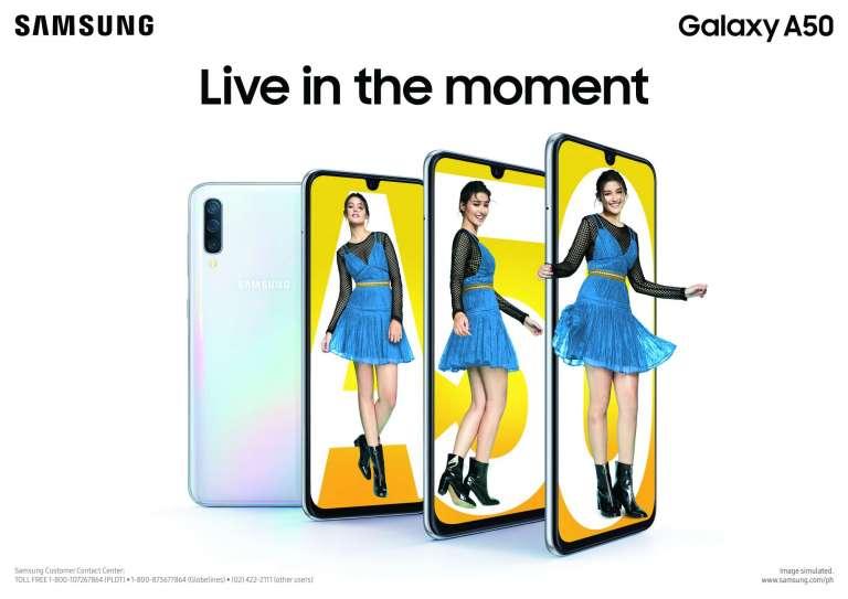 Samsung Galaxy A30 and Samsung Galaxy A50 (Philippines)